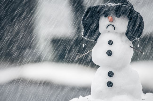снег с дождем