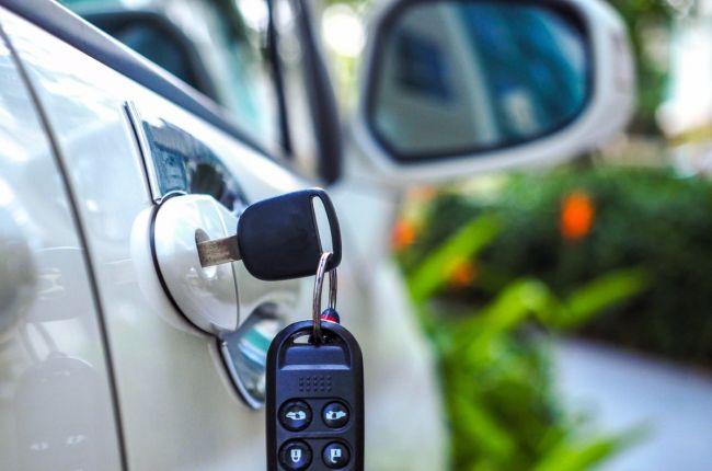 автомобиль ключи