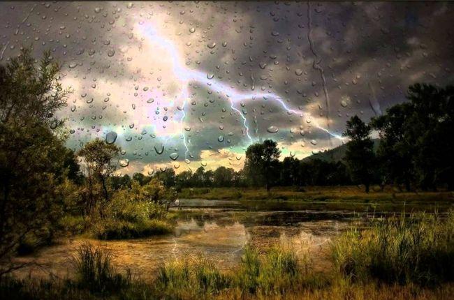 гроза дождь