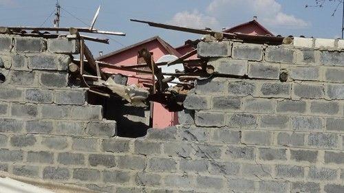 В Счастье разрушены дома