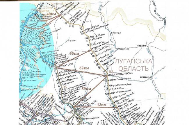 карта жд