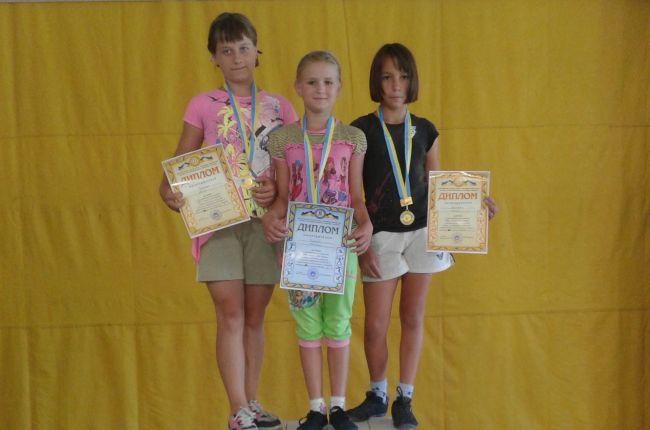 дети тяжелоатлеты из пгт Петровка